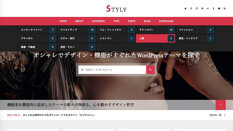 WordPress Theme STYLY